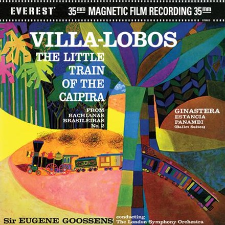 Villa-Lobos - The Little Train Of The Caipira - Goossens - London Symp Orch 200g 45RPM Vinyl 2LP