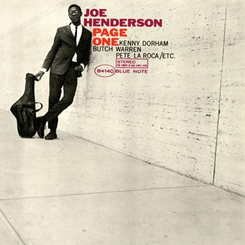Joe Henderson - Page One: Blue Note Classic Vinyl 180g Vinyl LP - direct audio