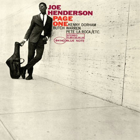 Joe Henderson - Page One on Numbered Limited Edition 180g 45RPM 2LP - direct audio