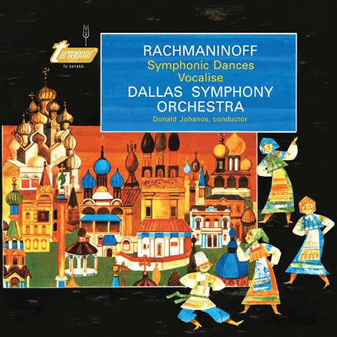 Rachmaninoff - Symphonic Dances and Vocalise (Johanos/DSO) on 180g 45RPM 2LP - direct audio