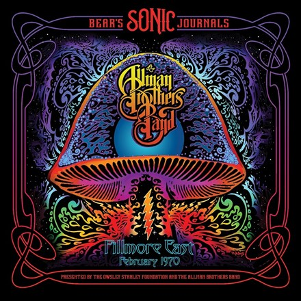 Allman Brothers Band Bear's Sonic Journals: Fillmore East, February 1970 Vinyl 2LP