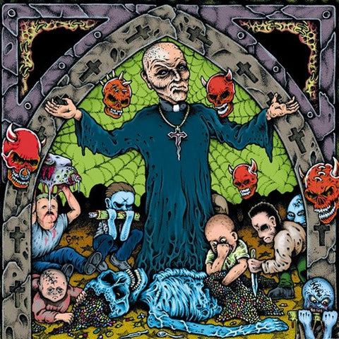 Agoraphobic Nosebleed - Altered States Of America on Limited Edition LP - direct audio