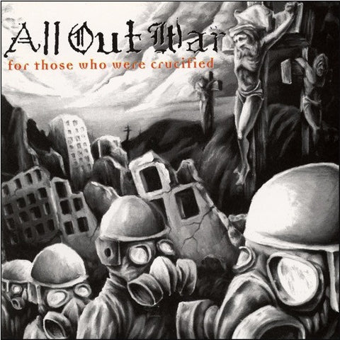 All Out War - For Those Who Were Crucified on Colored LP + Download - direct audio