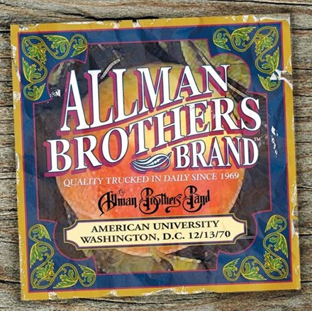 Allman Brothers Band - American University 12-13-70 Vinyl 2LP - direct audio