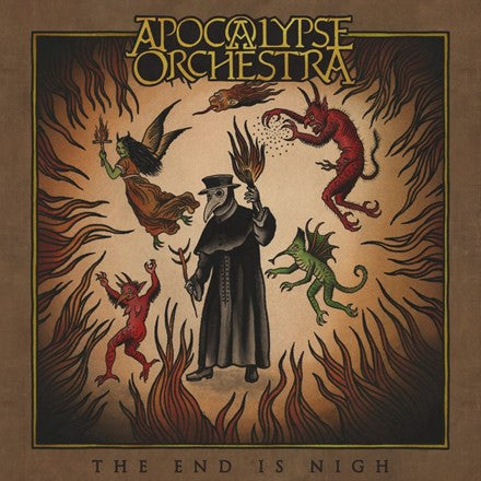 Apocalypse Orchestra - The End Is Nigh Vinyl LP - direct audio