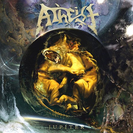 Atheist - Jupiter Colored Vinyl LP - direct audio
