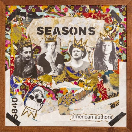 American Authors - Seasons Vinyl LP - direct audio