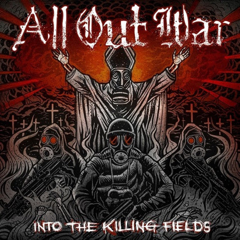 All Out War - Into The Killing Fields on LP - direct audio