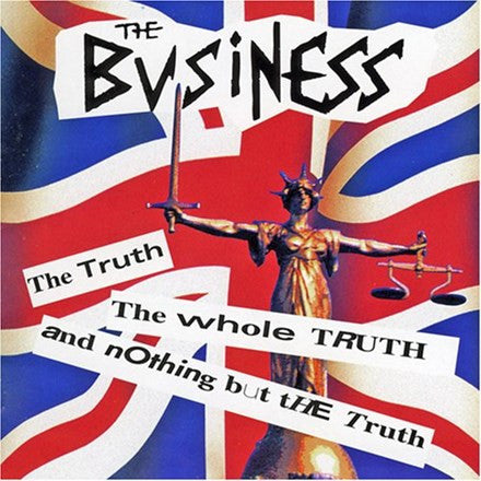 The Business - Truth Whole Truth Vinyl LP