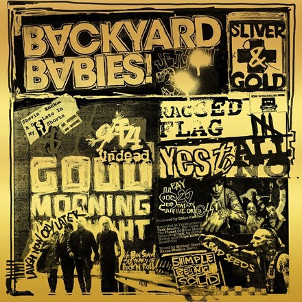 Backyard Babies - Sliver and Gold Vinyl LP + CD - direct audio