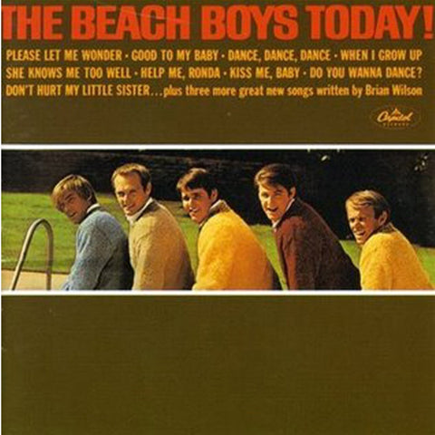 The Beach Boys - Today! on 200g LP - direct audio