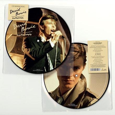 "David Bowie - Boys Keep Swinging: 40th Anniversary Picture Disc Vinyl 7"" - direct audio"