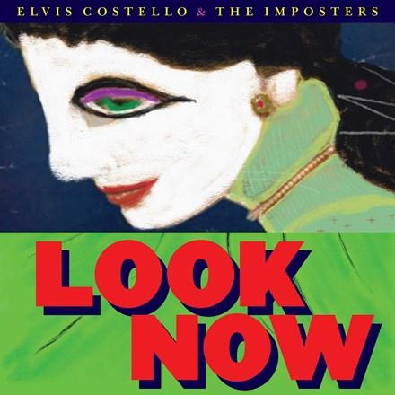 "Elvis Costello and the Imposters - Look Now 45RPM Colored Vinyl 8 x 7"" Box Set - direct audio"
