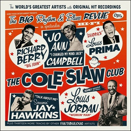 "Cole Slaw Club: The Big Rhythm and Blues Revue - Various Artists 180g Vinyl LP + 7"" - direct audio"