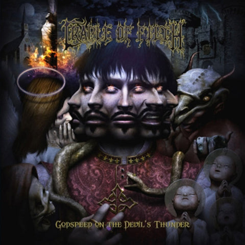Cradle Of Filth - Godspeed On The Devil's Thunder Vinyl 2LP (Out Of Stock) - direct audio