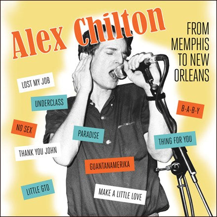 Alex Chilton - From Memphis to New Orleans Vinyl LP - direct audio