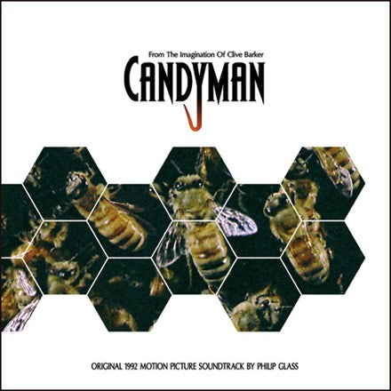 Phillip Glass Candyman: Original 1992 Motion Picture Soundtrack Vinyl LP
