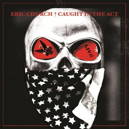 Eric Church - Caught in the Act: Live Colored Vinyl 2LP - direct audio