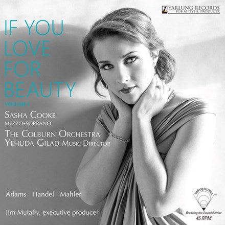 Sasha Cooke - If You Love For Beauty Volume 1 180g 45RPM Vinyl LP - direct audio