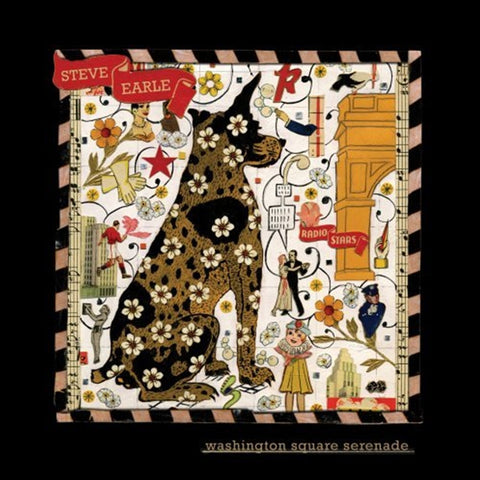 Steve Earle - Washington Square Serenade 180g Vinyl LP - direct audio