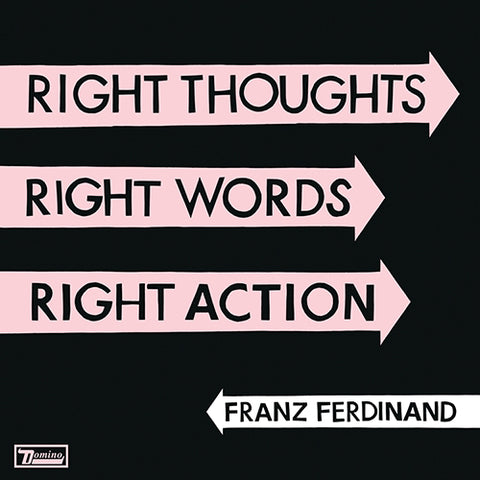 Franz Ferdinand - Right Thoughts, Right Words, Right Action Vinyl LP + MP3  Download Card