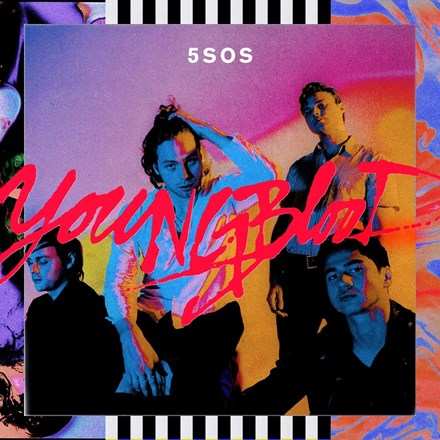 5 Seconds Of Summer - Youngblood Vinyl LP - direct audio