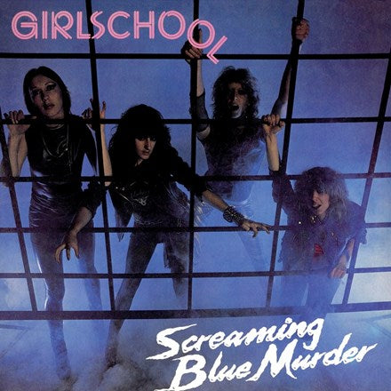 Girlschool - Screaming Blue Murder Vinyl 2LP