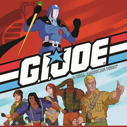 80s TV Classics: Music From G.I. Joe: A Real American Hero - Various Artists 180g Vinyl LP - direct audio