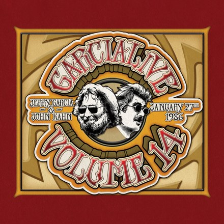 Jerry Garcia and John Kahn - Garcia Live Volume 14: January 27th, 1986 The Ritz 180g Vinyl 2LP - direct audio