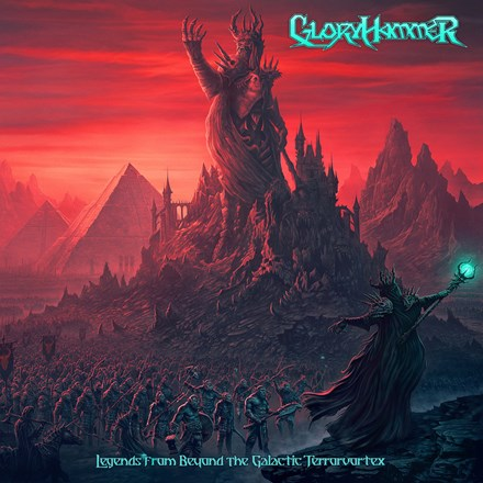 Gloryhammer - Legends from Beyond the Galactic Terrorvortex Vinyl 2LP