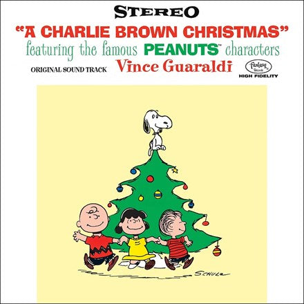Vince Guaraldi Trio - A Charlie Brown Christmas 180g Vinyl LP - direct audio
