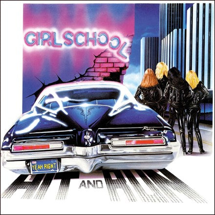 Girlschool - Hit and Run Vinyl 2LP