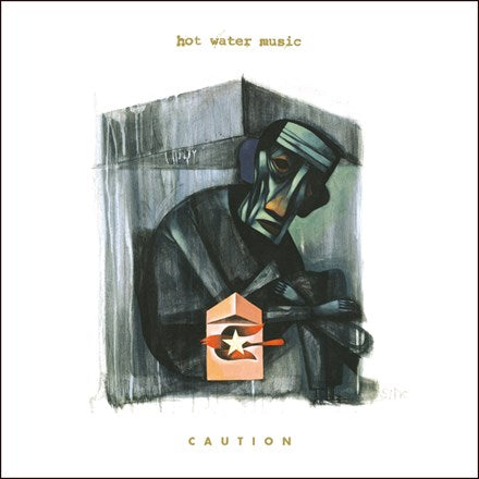 Hot Water Music - Caution Colored Vinyl LP - direct audio