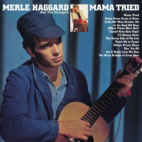 Merle Haggard - Mama Tried on Limited Edition 180g Vinyl LP (Awaiting Repress) - direct audio