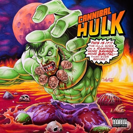 Ill Bill and Stu Bangas - Cannibal Hulk Colored Vinyl LP (Out Of Stock) - direct audio