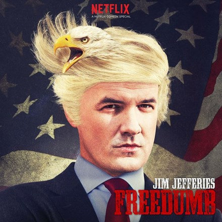 Jim Jefferies - Freedumb Vinyl 2LP - direct audio