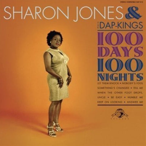 Sharon Jones & The Dap-Kings - 100 Days 100 Nights on Vinyl LP - direct audio
