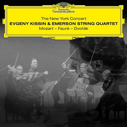 Evgeny Kissin and the Emerson String Quartet - The New York Concert Vinyl 2LP - direct audio