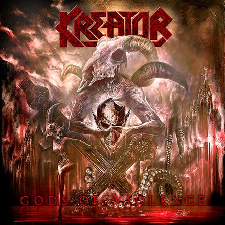 Kreator - Gods of Violence 180g Colored Vinyl 2LP - direct audio