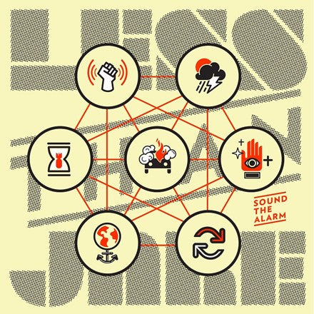 "Less Than Jake - Sound the Alarm 12"" Vinyl EP (Out Of Stock) Pre-order - direct audio"