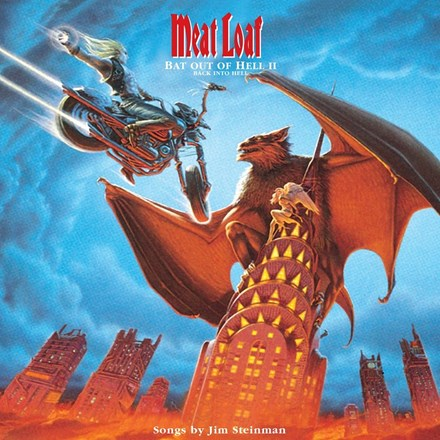 Meat Loaf - Bat Out of Hell II: Back Into Hell Colored Vinyl 2LP - direct audio