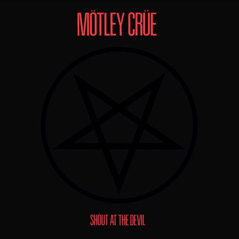 Motley Crue - Shout At The Devil on 180g Vinyl LP - direct audio
