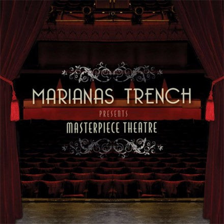 Marianas Trench - Masterpiece Theatre Vinyl LP - direct audio