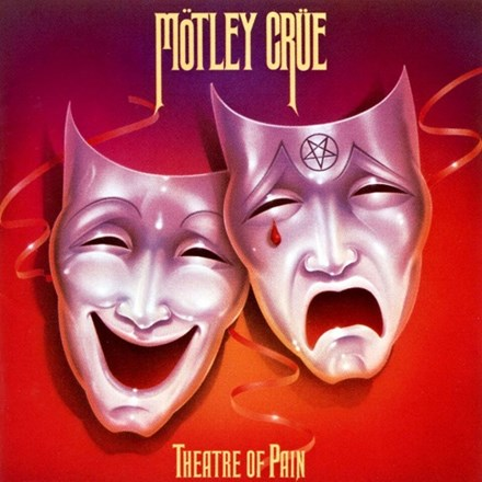 Mötley Crüe - Theatre Of Pain Limited Edition Colored Vinyl LP