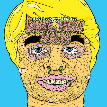 Malibu Ken (Aesop Rock and Tobacco) - Malibu Ken Vinyl LP - direct audio