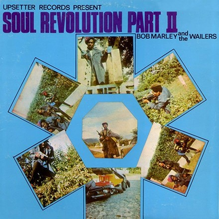 Bob Marley And The Wailers - Soul Revolution Part II Colored 180g Vinyl LP - direct audio