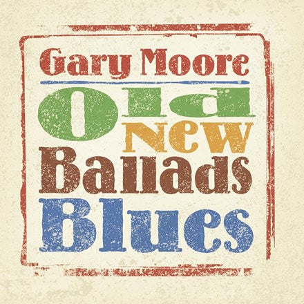 Gary Moore - Old New Ballads Blues 180g Vinyl 2LP - direct audio