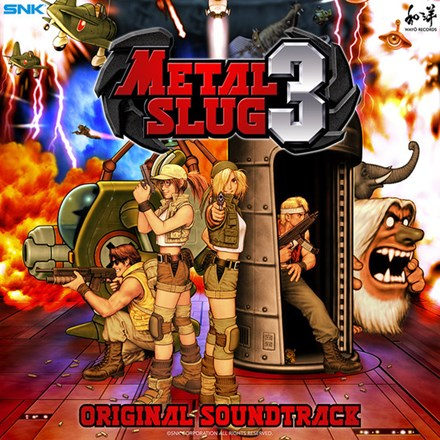 SNK Sound Team - Metal Slug 3: Video Game Soundtrack Colored Vinyl 2LP Coming March 12 2021 Pre-order - direct audio