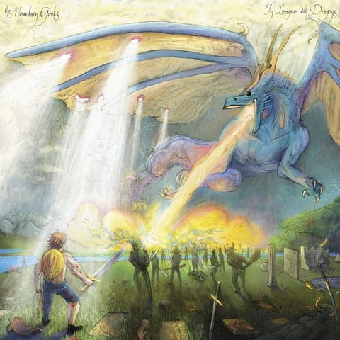 "The Mountain Goats - In League With Dragons: Dragonscale Slipcase Colored Vinyl 2LP + 7"" - direct audio"