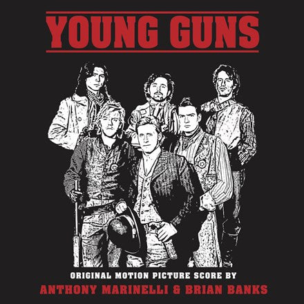 Anthony Marinelli and Brian Banks - Young Guns: 1988 Original Soundtrack Limited Edition 180g Vinyl LP - direct audio